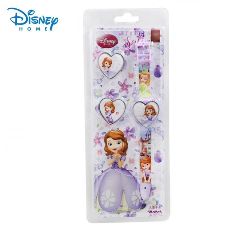 100-Genuine-kids-Brand-Disney-watches-heart-shaped-sofia-Watch-Princess-Silicone-digital-Montre-Enfant-Wristwatches