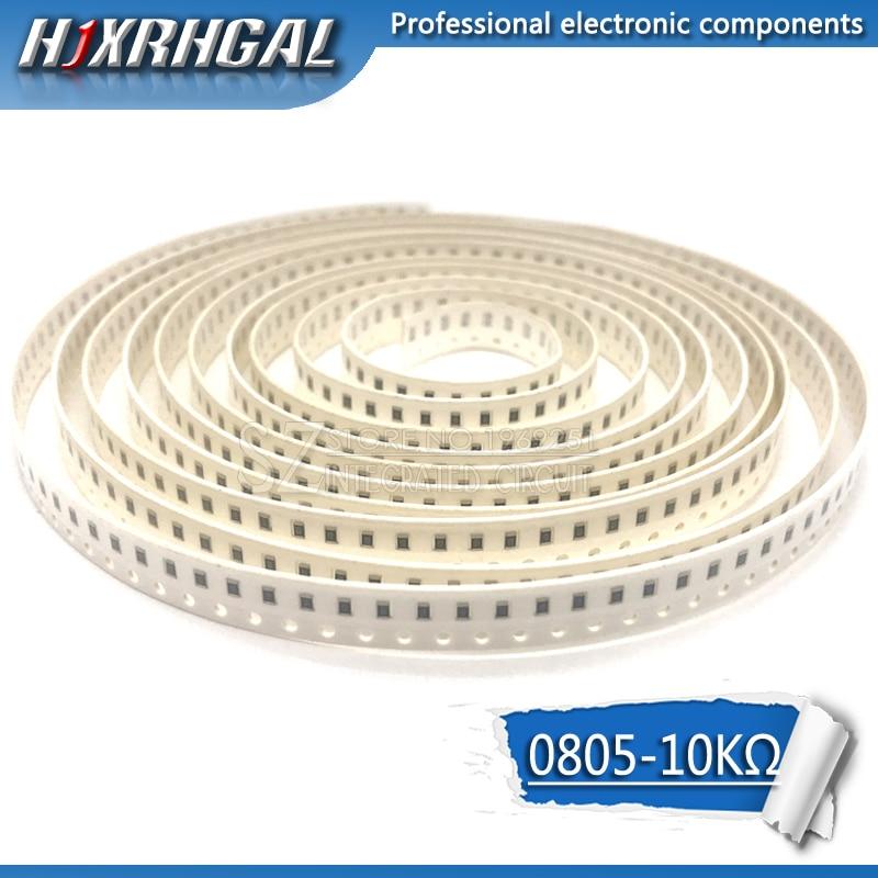300PCS 0805 SMD Resistor 10K Ohm  1/8W 103 Hjxrhgal