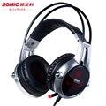 Sômica E95X 5.2 Vibração Gaming Fones De Ouvido A Última Versão Atualizada do E95 Professional Gaming Headset Para Computador Portátil