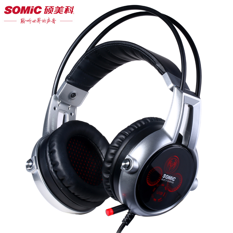 ФОТО Somic E95X 5.2 Vibration Gaming Headphones The Latest Upgraded Version of  E95 Professional Gaming Headset For Computer  Laptop