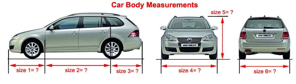 Car Body Measurements