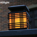 Impermeável Ao Ar Livre Iluminação Gazabo Pilar Lâmpada E27 Iluminação Coluna Cerca Villa Pátio Ao Ar Livre Do Jardim Iluminação Da Paisagem Luz