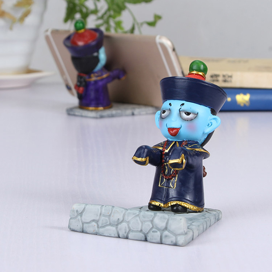 Universal Cartoon zombie cell phone desk stand holder for