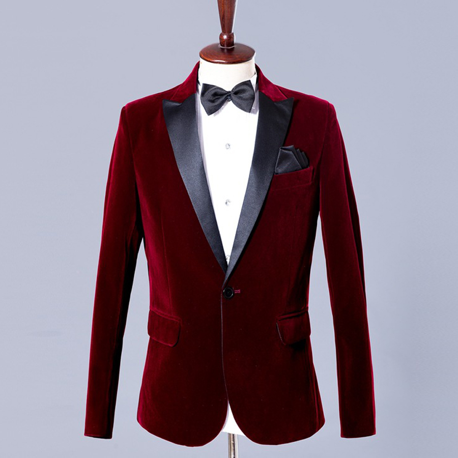 Host Custom Groom Tuxedos Wedding Suit Wedding Dresses Party Prom Suits Slim Fit for Men Fashion 2Pieces (Jacket+Pants ) 2018