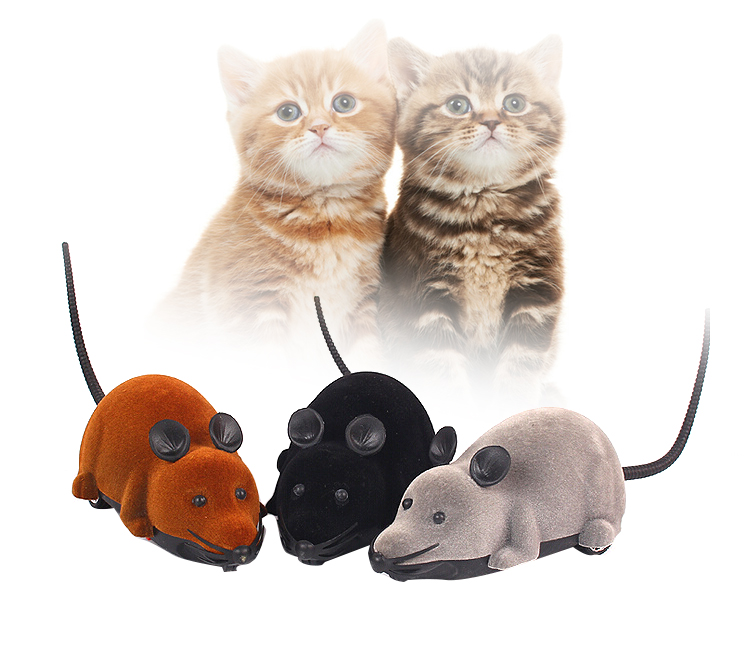 Toys & Hobbies Chiger Toys Rc Mouse High Simulated Horrible Scary Led Mice Funny Tricky Playing Mouse Rat Toy For Kids