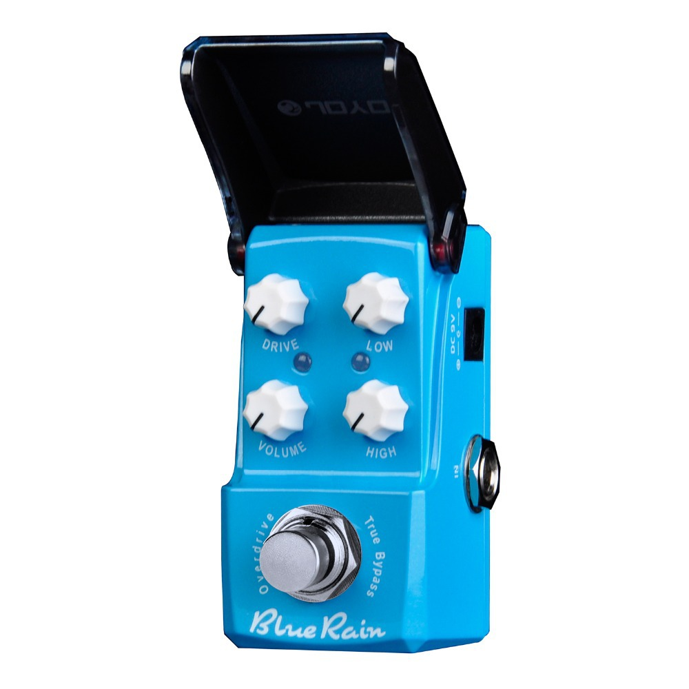 Joyo Ironman Blue Rain Overdrive Electric Guitar Effect Pedal True Bypass JF-311 JF311 помощник дрели