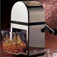 Kitchen Bar Coolers Tools Stainless Steel Plastic Manual Shaved Ice Machine Ice Crusher Free Shipping