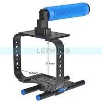 DSLR Camera 15mm Rod BMCC Cage Rig for BMCC Blackmagic Cinema Camera C300 C500 5D2 5D3