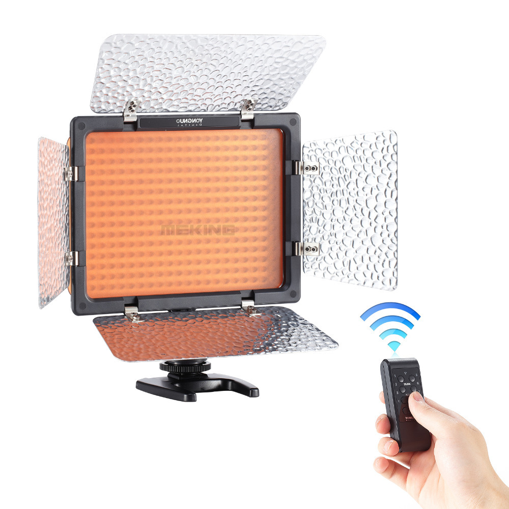 Yongnuo YN300III 5500K CRI95 LED Video Light for DSLR Camera Photography Photo Studio lighting Lamp free shipping yongnuo yn300 iii led 5500k camera video flash light yn300 iii for dslr camera olympus app yongguo np 750 5200mah