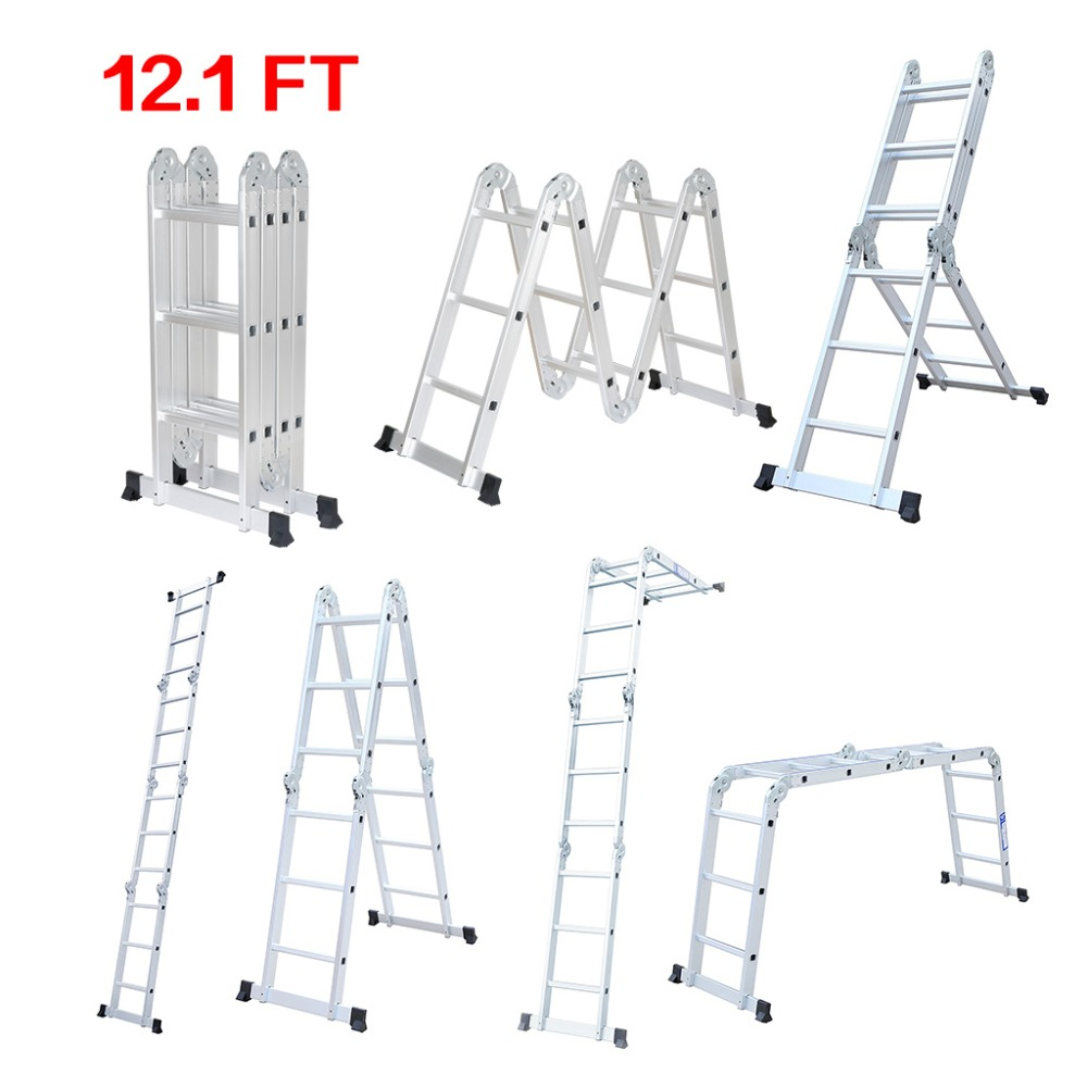 Online Buy Wholesale aluminum folding ladders from China