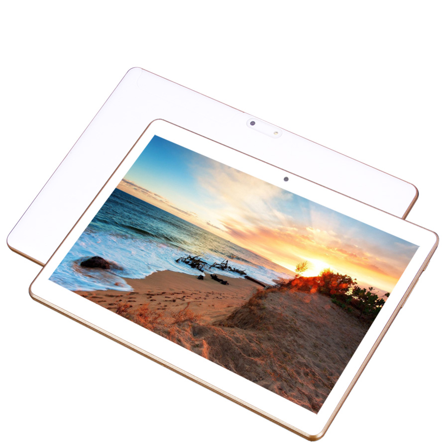 FUGN 10 inch Android Tablet 6.0 3G Phone Call Octa Core 4GB RAM with Cameras GPS Wifi 1920*1200 IPS for Kids Gift with Keyboard