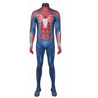 Amazing NEW PS4 INSOMNIAC SPIDERMAN Costume 3D Print Spandex Spiderman Suit Spiderman Halloween Costume