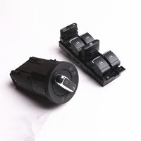 COSTLYSEED Headlight Knob Window Master Switch Button For VW Jetta MK4 Golf Bora Passat B5 B5.5 Beetle 3BD 941 531 3BD 959 857