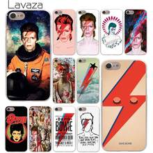Lavaza David Bowie Hard Telefoon Case voor iPhone XR X XS 11 Pro Max 10 7 8 6 6S 5 5S SE 4 4S Cover(China)