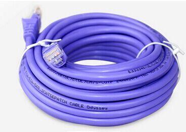Sur six types de lignes de réseau, 8 noyaux, 0.58 cuivre pur, fil CAT6, cuivre sans oxygène, Gigabit, BCI