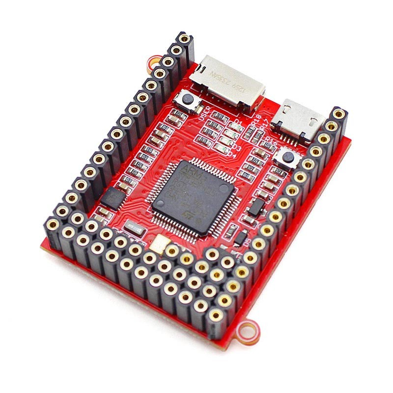 Image 3 - Elecrow Python Core Board Crow Pyboard Microcontroller Development Board MicroPython STM32F405RG for Pyboard Learning Module-in Integrated Circuits from Electronic Components & Supplies