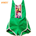VICVIK Brand Girl Set Baby Clothes Girls Summer Jumpsuit Kids Fashion Sling Children Sport Suits Cotton Sleeveless Kids Clothes