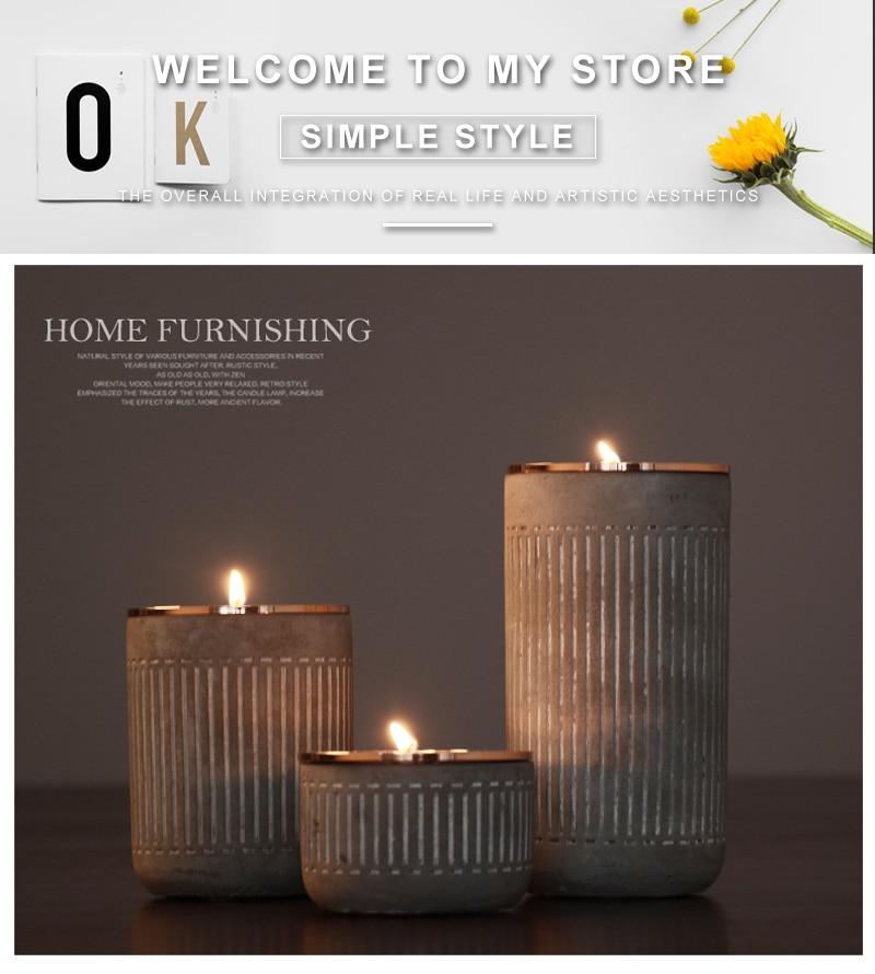 gold decor home romantic metal lantern yankee candle (1)