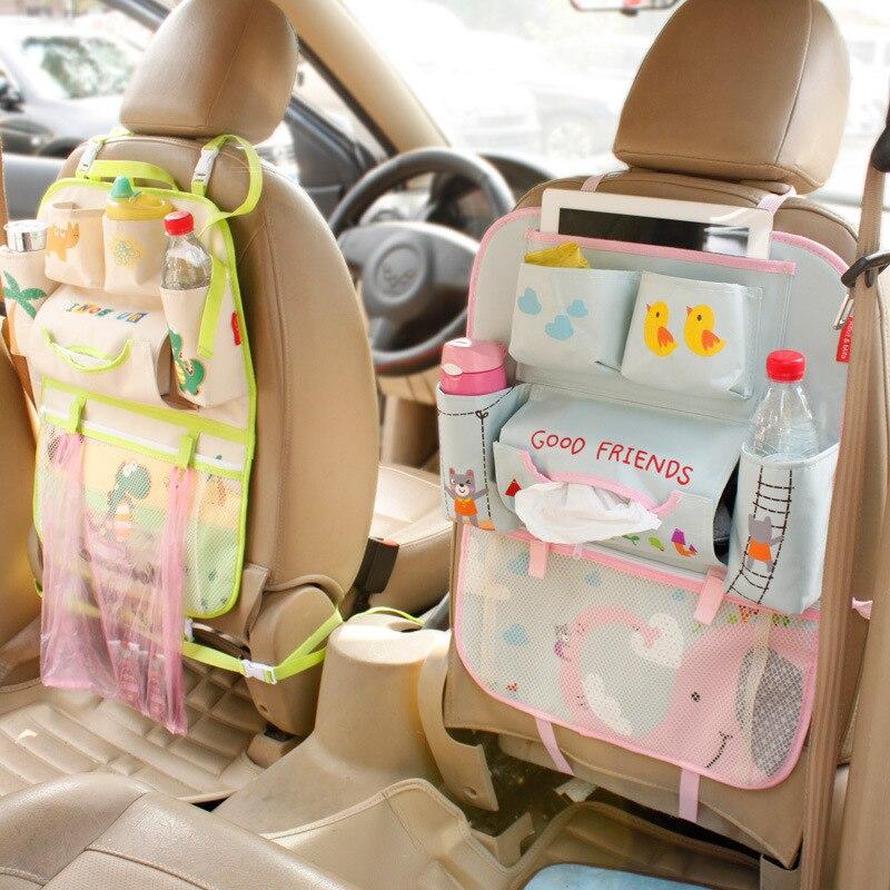 Backseat Bag Diy Car Storage Seat Pocket 8 5 X 20cm Rear Seat