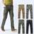 4 Color Plus Size 2016 Novos Homens Calças de Design Multi-bolsos Com Zíper de Algodão Do Meio Em Linha Reta para o Sexo Masculino Tático Casuais Capris MG86