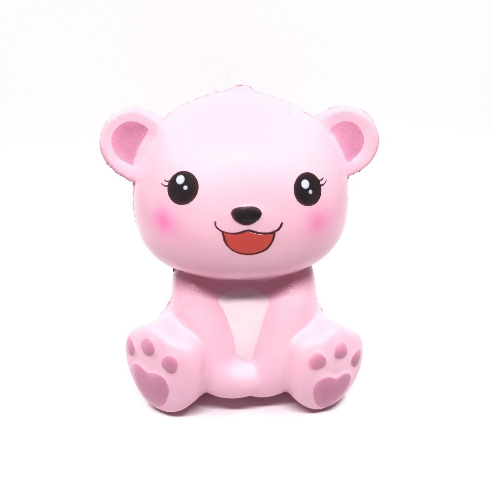 5pcs/lot Puni maru Jumbo Polar bear Squishy Slow Rising Soft Kawaii Squishies Kid Toys Gift scented l agent by agent provocateur боди lucila