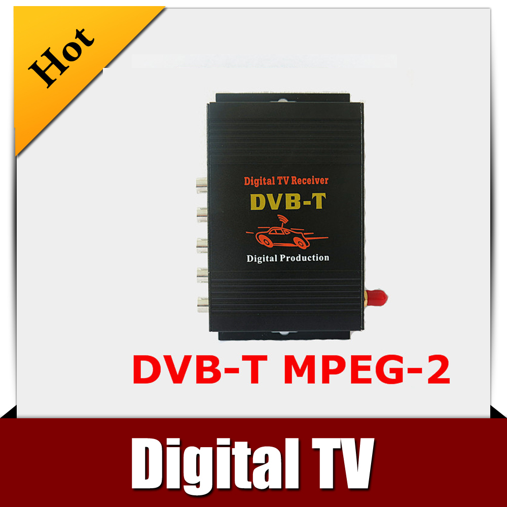 ФОТО CAR DVB-T MPEG-4 MOBILE DIGITAL TV TUNER Receiver free shipping