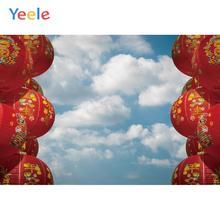 Yeele New Year Chinese Elements Lantern Customized Photography Backdrops Personalized Photographic Backgrounds For Photo Studio