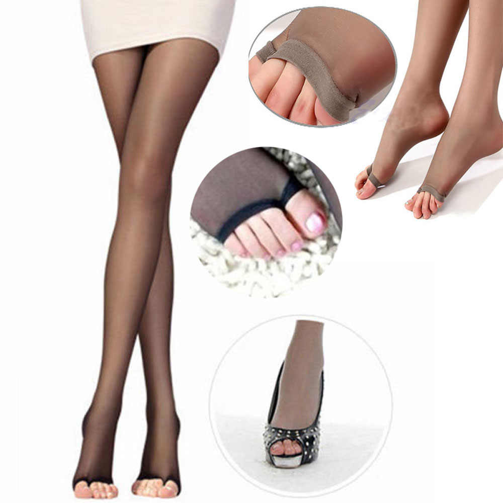 1 Pc ใหม่แฟชั่นผู้หญิงเซ็กซี่หญิงเปิดนิ้วเท้า Sheer Leggings Pantyhose ถุงน่องใหม่มาถึงฤดูร้อนสไตล์