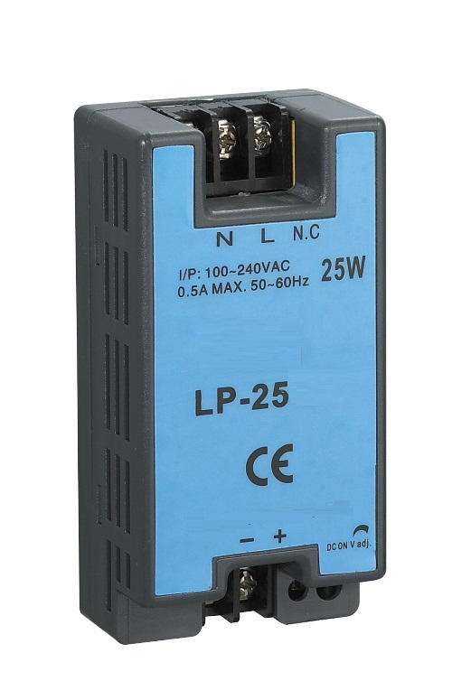 5v switching power supply 25w LP-25-5 din rail mounting 5vdc 4a single output 25w 5v 5a switching power supply dc15v power supply