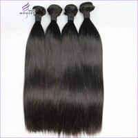 Modern Show Straight Hair Bundles 3/4 PCS Peruvian Hair Bundles 100% Human Hair Weave Bundles Free Shipping Non Remy 10 28 inch
