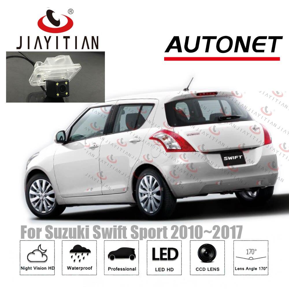 JIAYITIAN Rear View Camera For Suzuki Swift ZC72S ZC82S ZC32S 2010~2017 CCD Night Vision/Reversing/License Plate Camera Backup