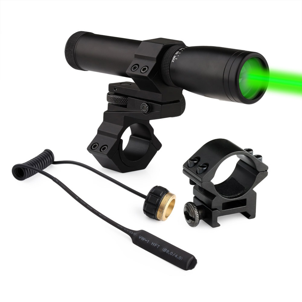 New Hunting Laser Genetics ND-30 Long Distance Green Lasers Designator With Mount цена и фото
