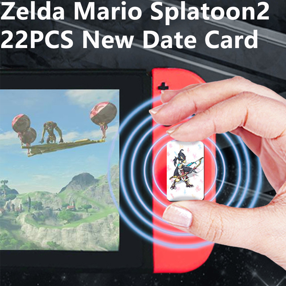 Compatible Zelda NFC Card 20 Heart Wolf Amibo New Date For Game The Legend Of Breath Of The Wild Switch NFC For Nintend Switch