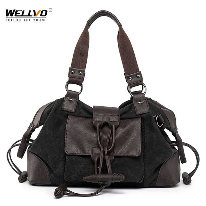 Fashion Vintage Canvas Leather Men Travel Bag Carry on Luggage Duffel packet Large Tote Patchwork Weekend Crossbody Bag XA271WC fashion vintage canvas leather men travel bag carry on luggage duffel packet large tote patchwork weekend crossbody bag xa271wc