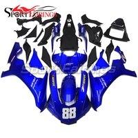 ABS Полный мотоцикла для Yamaha R1 2015 2016 обтекателя Наборы YZF R1 15 16 инъекций капоты Blue Pearl Наборы тела обтекатель комплект новый