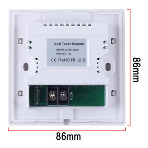 Image 5 - 32 واط RGBW 2.4 جرام اللاسلكية الجدار التبديل اللمس تحكم LED الألياف البصرية محرك سائق لجميع أنواع الألياف الضوئية مجموعة