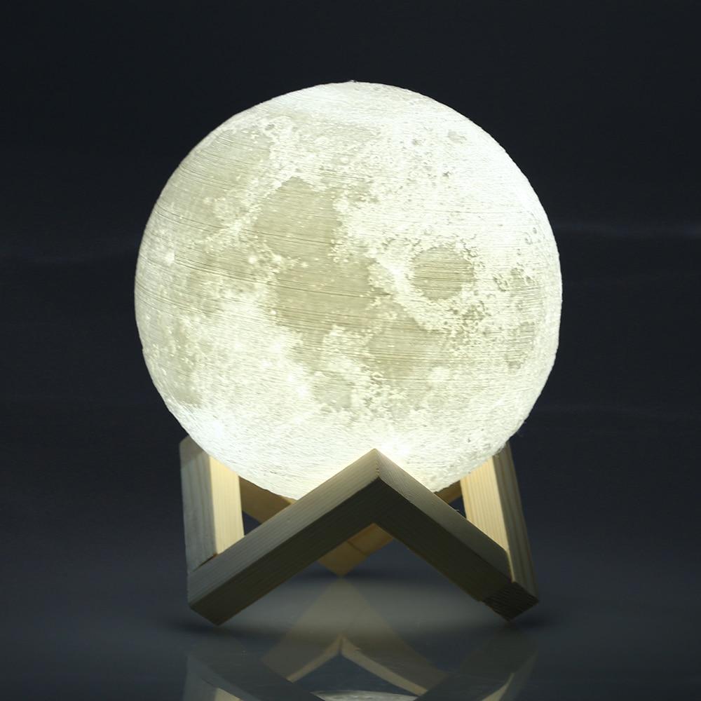3d Usb Led Magical Moon Night Light Moonlight Table Desk