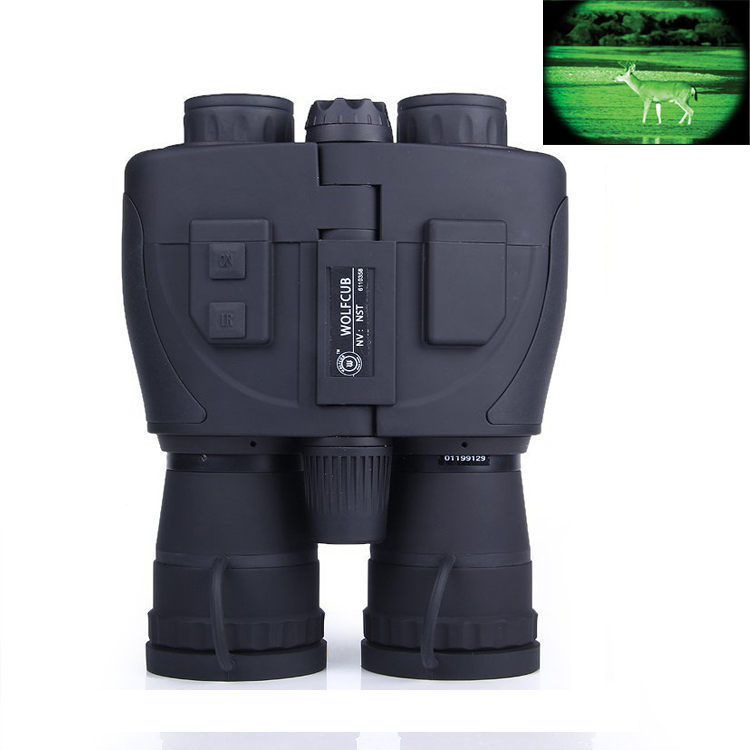 Gen1 Field Tactical Scout 5x Gen1 Full darkness zoom 5X Night Scout Infrared Night Vision Binoculars Telescope #NS-088 scout nano exclusive