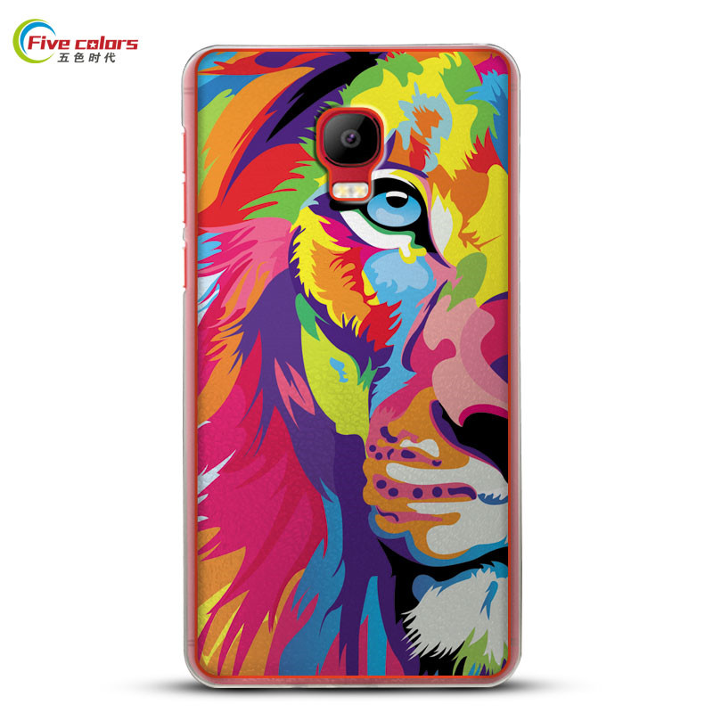For Case Elephone P8 Max Hard Plastic Protection Cases For Fundas Elephone P8max Covers Slim Back Cover 5.5inch Cartoon Painted