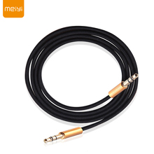 hot deal buy meiyi 3.5 mm jack aux audio cable male to male car aux cable gold plated auxiliary cable for car / iphones / media players