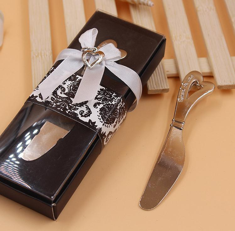 hot sell 100pcs/lot Love Heart-Shaped Handle Spreader Butter <font><b>Knives</b></font> <font><b>Knife</b></font> <font><b>Wedding</b></font> <font><b>Gift</b></font> <font><b>Favors</b></font> SN054 image