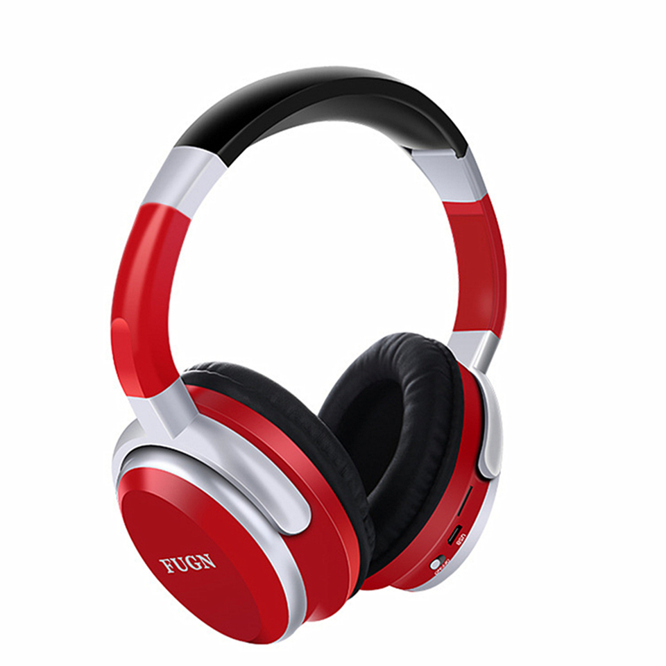 Foldable PortableBluetooth Wireless Stereo Bass Headband Headphone Bluetooth Headset with Mic for Phone SD/TF FM Radio MP3 Mi zealot b570 headset lcd foldable on ear wireless stereo bluetooth v4 0 headphones with fm radio tf card mp3 for smart phone