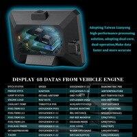 P16 3 Inch LCD HUD obd2 Car Head Up Display Auto Intelligent On Board Computer Car Speedometerhud Display Car Electronics New|Head-up Display|   -