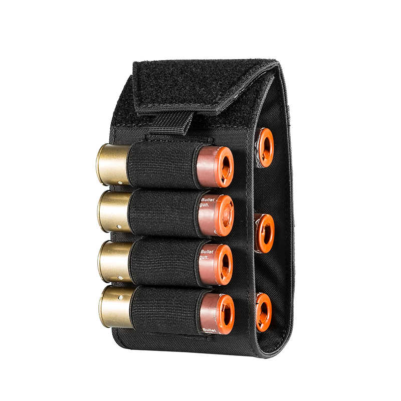 OneTigris MOLLE 15 Round Ammo Pouch Rifle Shotshell Reload Cartridge Holder Rifle Cartridge Carrier Bag 15 Cartridge Loops