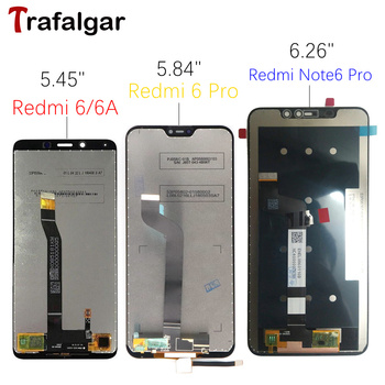 Xiaomi Redmi 6 LCD Display Touch Screen Digitizer Assembly For Xiaomi Redmi Note 6 Pro LCD 6A Note6 Pro Screen Replacement