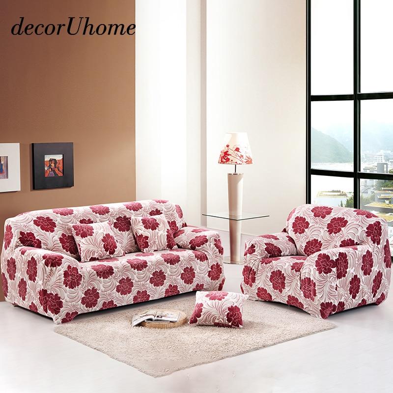 decorUhome Thick Plush Soft Sofa slipcovers Tight Wrap All
