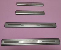 POLO Stainless steel door sill Scuff Plate Car accessories For VW POLO 2011 2016 Hatchback