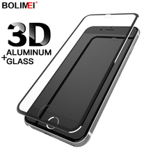 3D Aluminum Alloy Tempered Glass For iPhone 6 6s 7 8 Screen Protector Film On The For Apple iPhone 6 6s 7 8 Plus 10 X Glass cheap bolimei Front Film iPhone 6 plus IPHONE 8 PLUS iPhone 6s plus IPHONE X IPHONE 7 IPHONE 7 PLUS Mobile Phone Matte