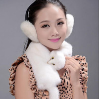 Mink scarf, Warm Winter 2016 new Mink scarf unisex Scarves Natural mink Fur Free Shipping