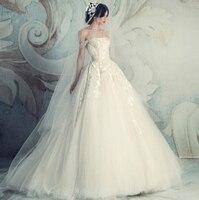 2017 Cap Sleeve Bridal Ball Gowns Puffy Elegant White Lace Wedding Dresses gothic wedding dresses Vestido De Noiva Renda